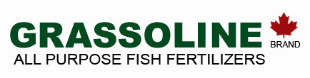 grassoline fish fertilizer logo