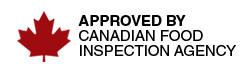 approved by the CFIA