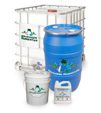 Grassoline Organic Liquid Fish Fertilizer Containers