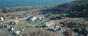 aerial shot of Renuable Resources